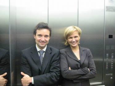 Dynamic duo: poliittinen avustaja ja hänen meppinsä syksyllä 2004, Nieminen ja Korhola
