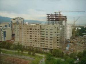 Aamulla katselin hotellin ikkunasta että minne sitä on tultu.