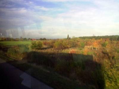Matkalla Strasbourgista Frankfurtiin, 2,5 tuntia.