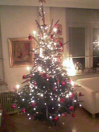 Jouluna annetaan ajatusten levätä ja lepuutetaan silmiä.