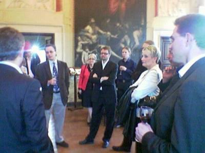 Illalla kävimme Villa Lantessa tutustumassa ja juhlistamassa Jyrki Kataisen (kuvassa oikealla) valintaa EPP:n varapuheenjohtajaksi.Kuvassa myös kristillisdemokraattien puoluesihteeri Annika Kokko.
